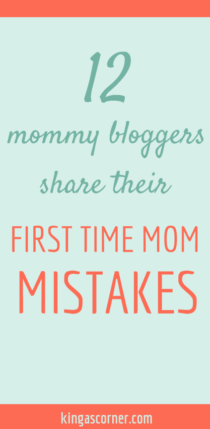 first time mom mistakes