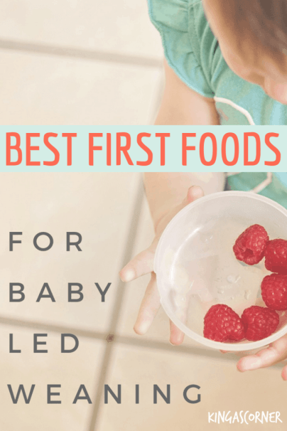 Ever wondered what the first foods for baby led weaning should be? In this article you are going to find inspiration and tips about BLW.