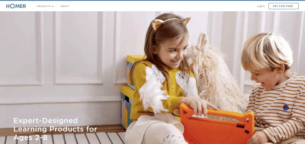 homer apps - best apps for parents