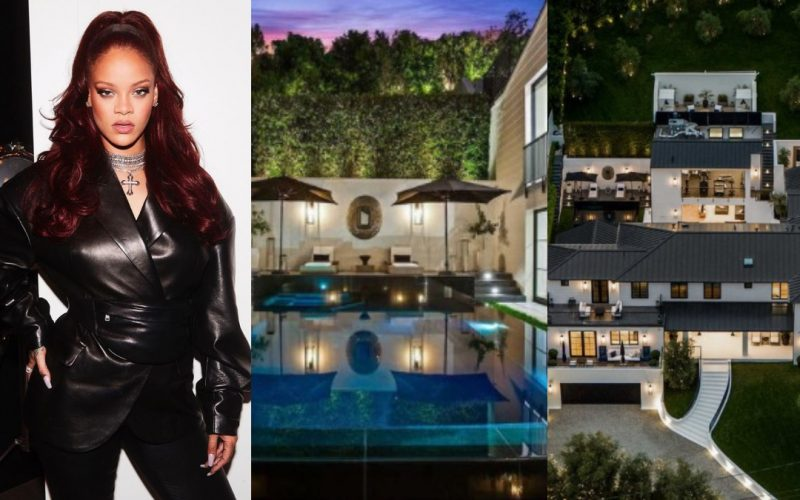 Rihanna Luxurious Mansion
