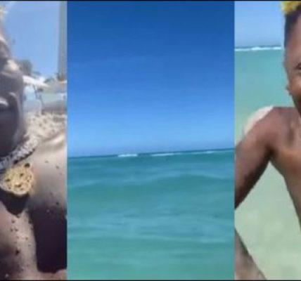 Shatta Wale in Miami Beach
