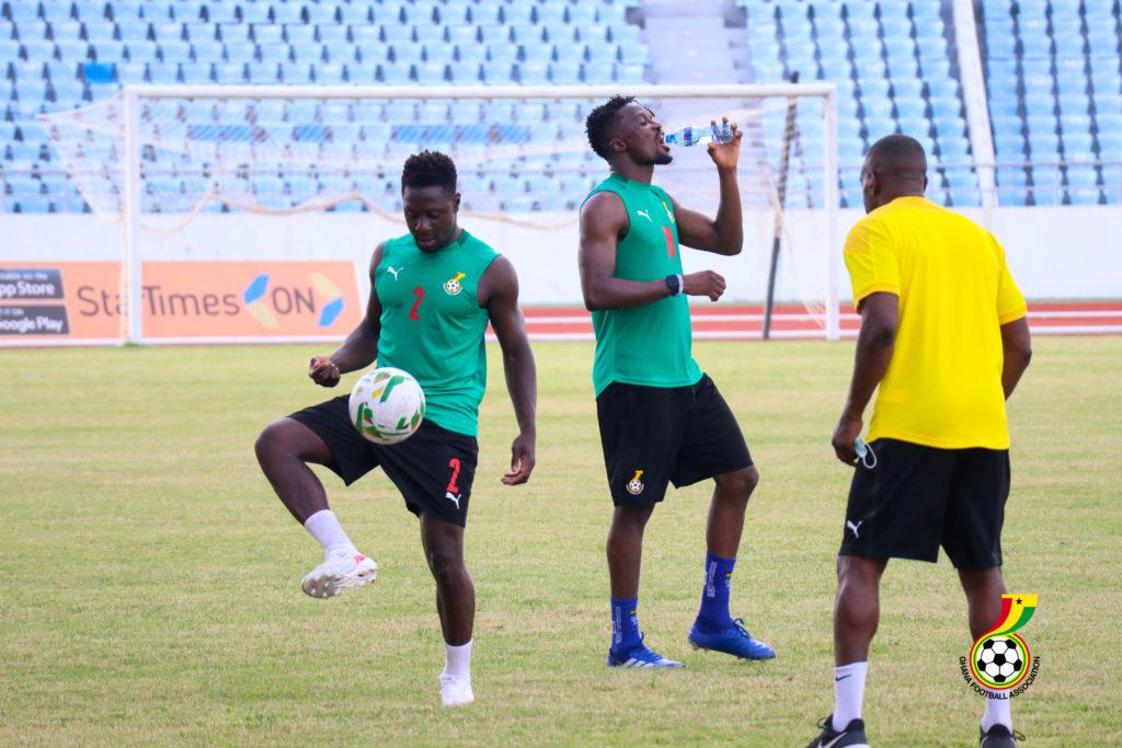 black stars training