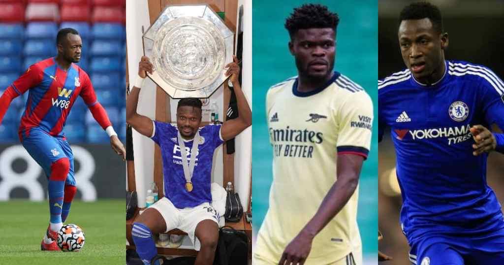 Ghanaian Footballers EPL