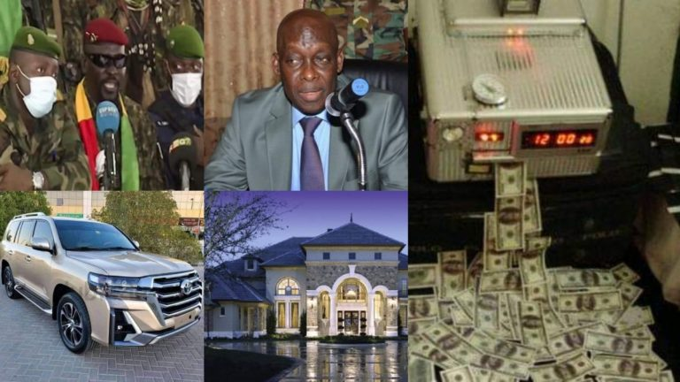 Guinea: Mamady Doumbouya Tracks Down Alpha Conde's Defence Minister Who Has Stolen $1.3 Billion Of State Money, Has 43 Villas, 57 Buildings, 18 Luxurious Cars In His Bungalow