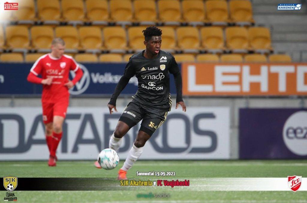 Ghanaian Kingsley Asante Ofori's Superb Solo Goal In Finland