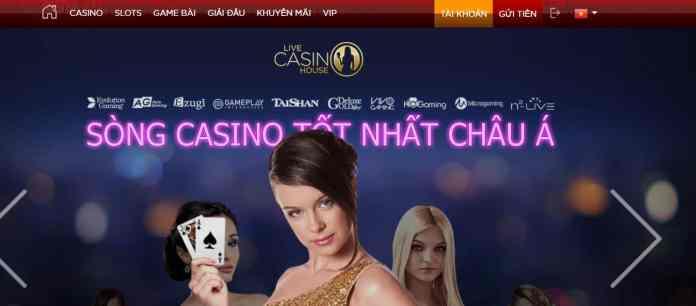 đăng ký tài khoản Live Casino House