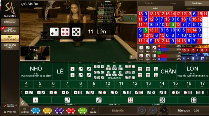 đánh bài online ăn tiền tai Live Casino House