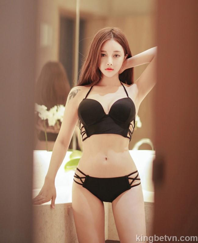 jo min young hot girl hàn quốc mặc bikini siêu gợi cảm