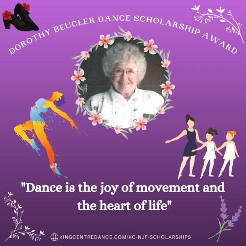 Dorothy Beucler Dance Scholarship Award