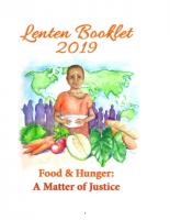 Lenten Booklet 2019
