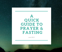 a guide to prayer & fasting