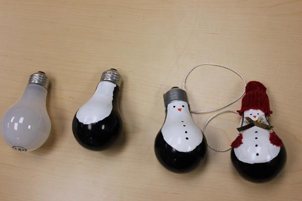 Mini Christmas Light Bulbs
