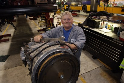 Mechanic Gary Archer