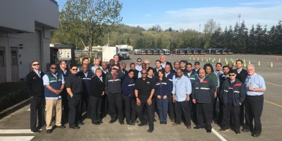 Graduating class of part-time to full-time operators