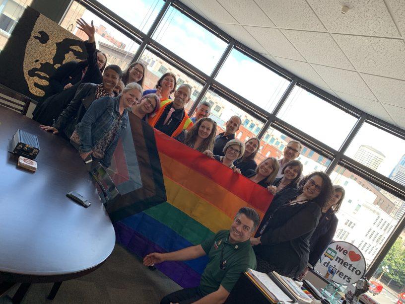 Metro Raises New Progress Pride Flag At All Campuses