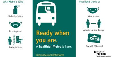 """Ready when you are: A healthier Metro is here."""