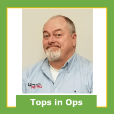Jim Dempsey, March 2021 Operator of the Month, Bellevue Base