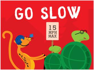 KC Trail Safety - Go Slow