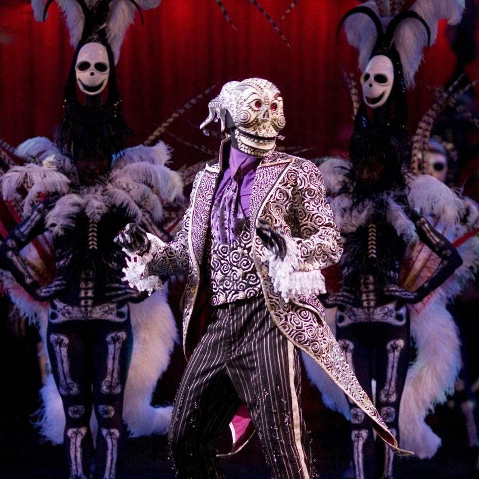 KOOZA skeleton dance