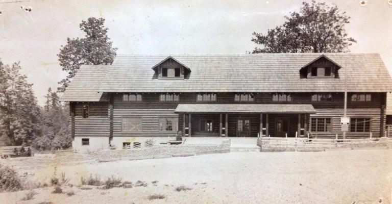 White Center Fieldhouse (a.k.a. the Log Cabin) circa 1940