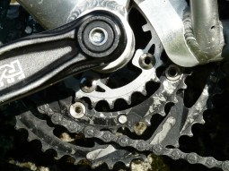 Chainring-grease