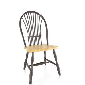 Round Wheatback Side Chair