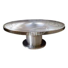 84 Inch Round Pedestal Table