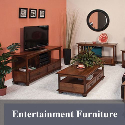 Amish Entertainment Furniture