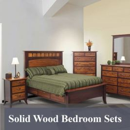 Solid Wood Bedroon Sets
