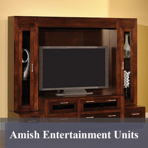 Amish Entertainment Units