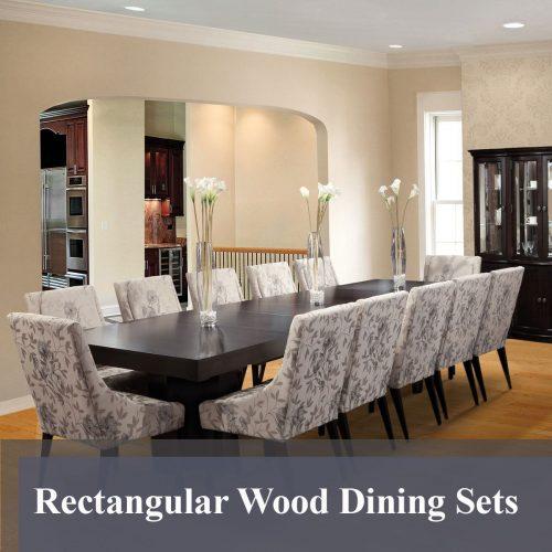 Rectangular Wood Dining Sets