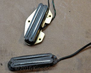 pickup conversion for telecaster