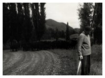 Arch Dassler, my blind Grandfather on the road