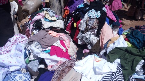 Clothes we bought for orphans and widows