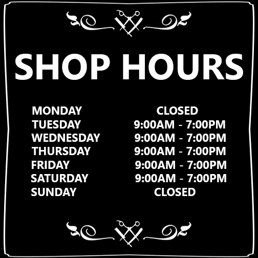 BarberSHOP Orange city HOURS