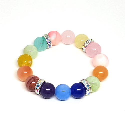 Jazzy's Beads - Cotton Candy