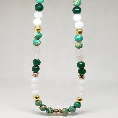 Imperial Collection - Green Necklace