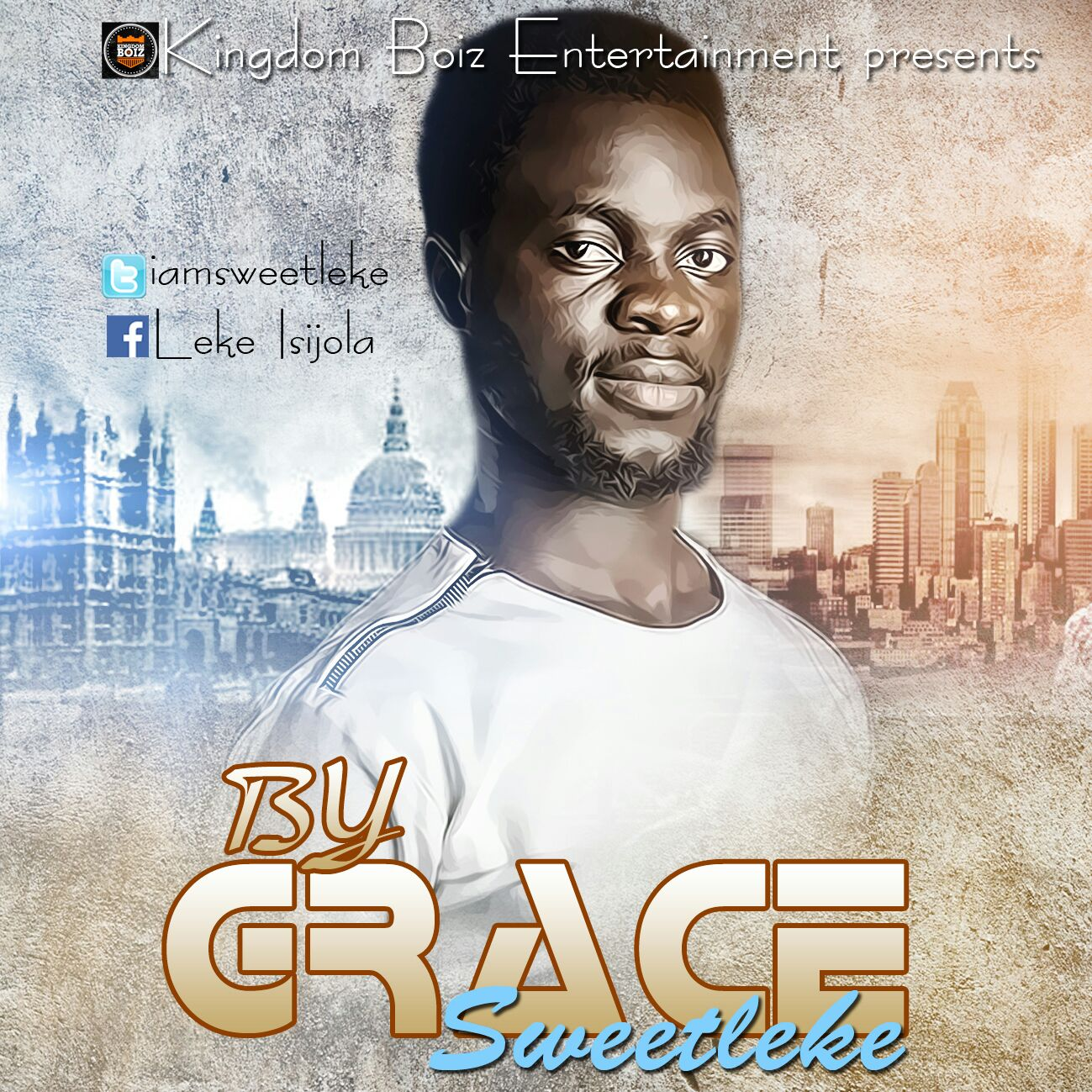 """News: SweetLeke Set To Release His Brand New Single """"BY GRACE"""""""