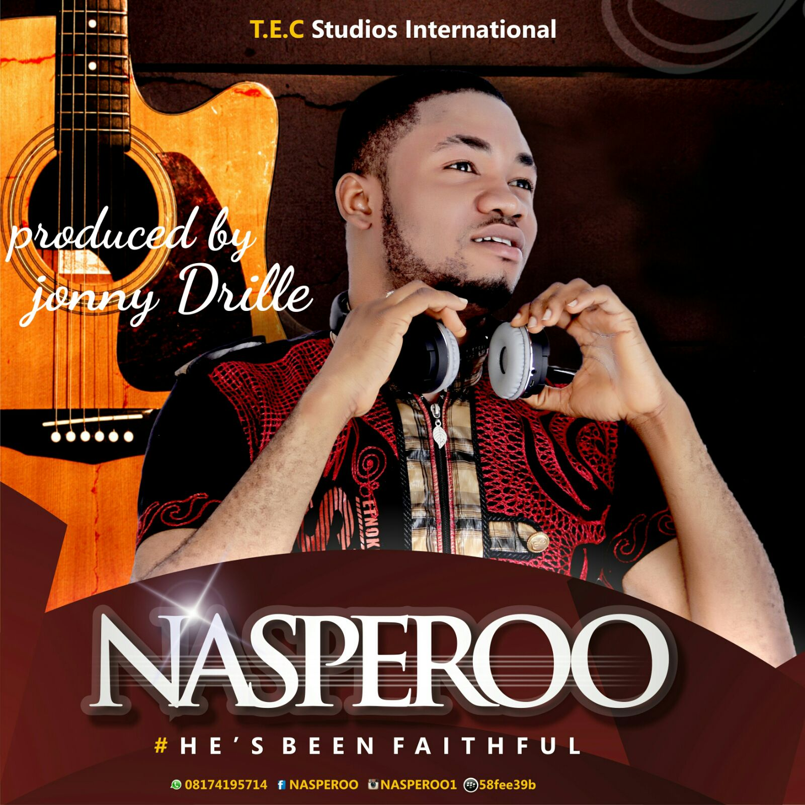 DOWNLOAD Music: Nasperoo – Faithful (Prod. By Johnny Drille)