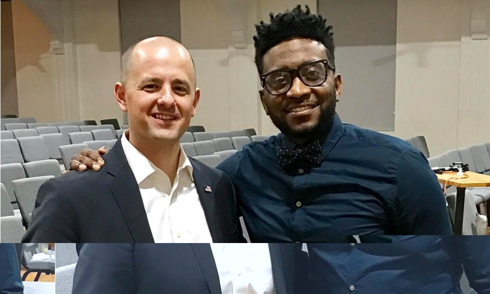 Sho baraka creates a narrative with presidential candidate evan presidential independent candidate evan mcmullin spoke with sho baraka at blueprint church in atlanta and fielded questions from those in attendance malvernweather Gallery
