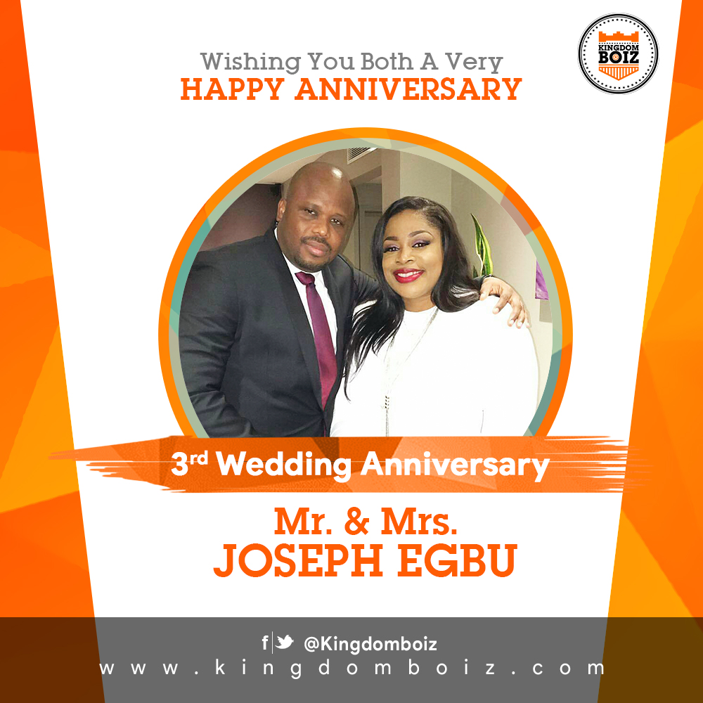 Sinach: Gospel Singer &  Husband Celebrate 3rd Wedding Anniversary