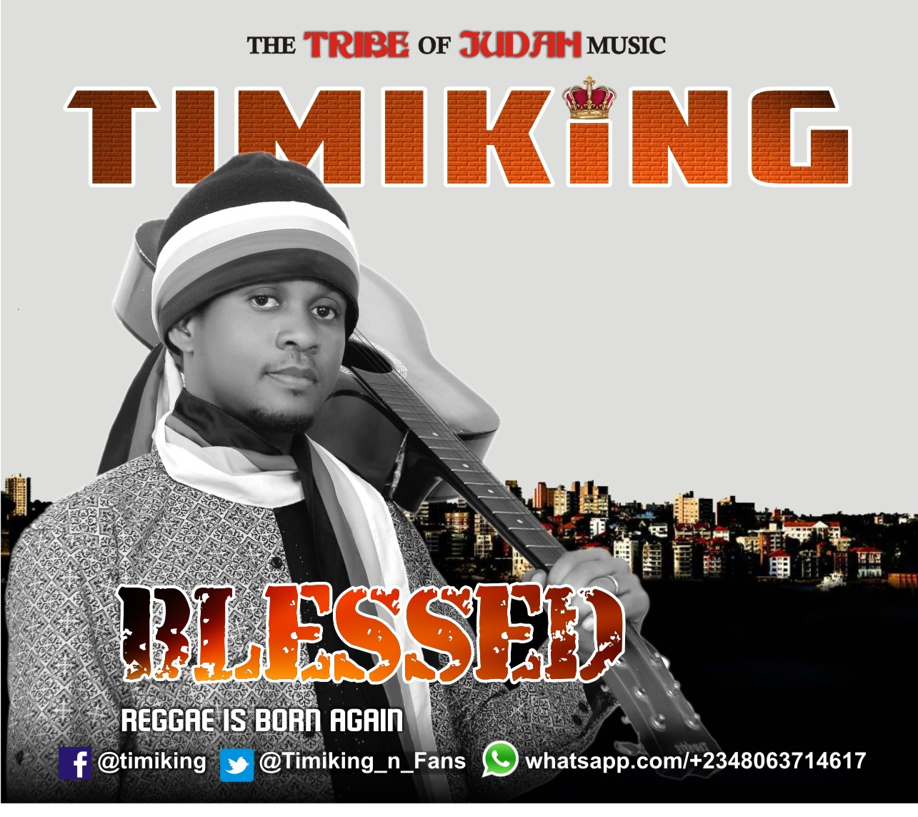 DOWNLOAD Music: Timiking – Blessed