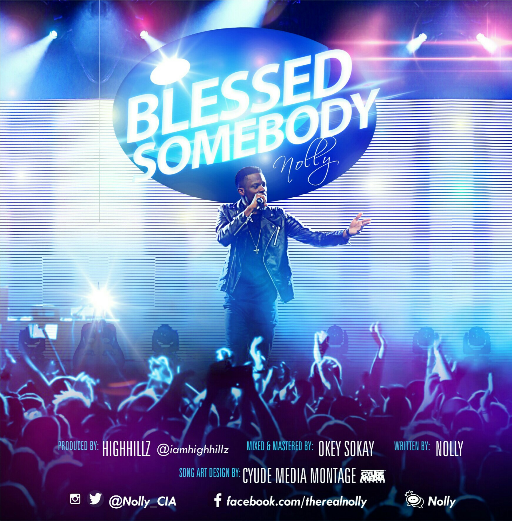 DOWNLOAD Music: Nolly – Blessed Somebody (Free Verse)