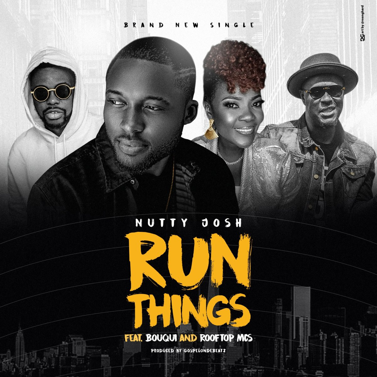 DOWNLOAD Music: Nutty Josh - Run Things (ft. Bouqui & Rooftop MCs)