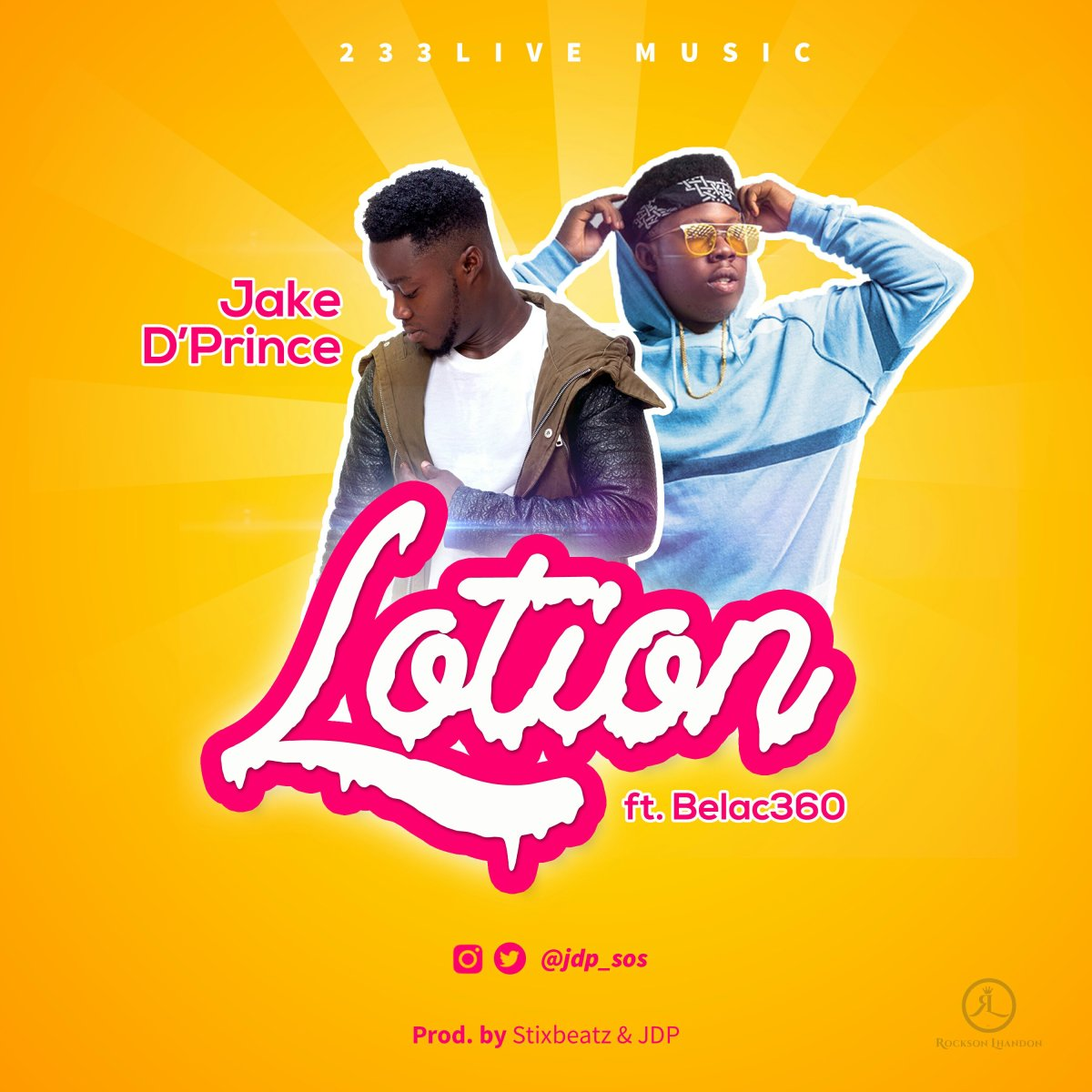 DOWNLOAD Music: Jake D'Prince - Lotion (ft. Belac360)