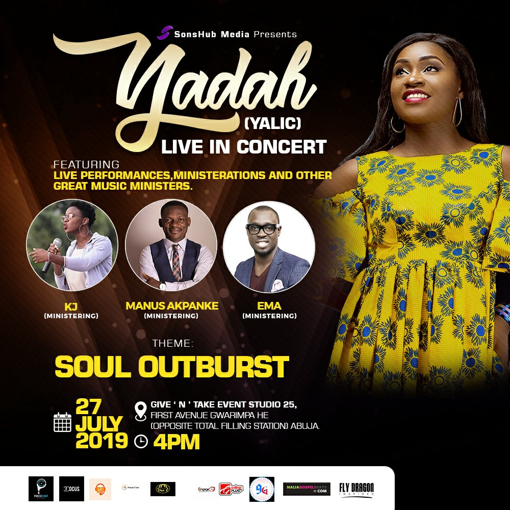 "Yadah Sets for her Live Recording Concert tagged ""Soul Outburst"""