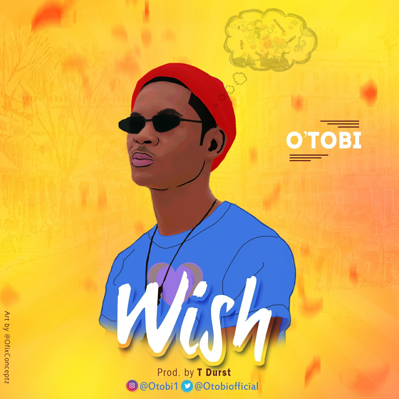 DOWNLOAD Music: O'tobi – Wish (Prod. By Tdurst)
