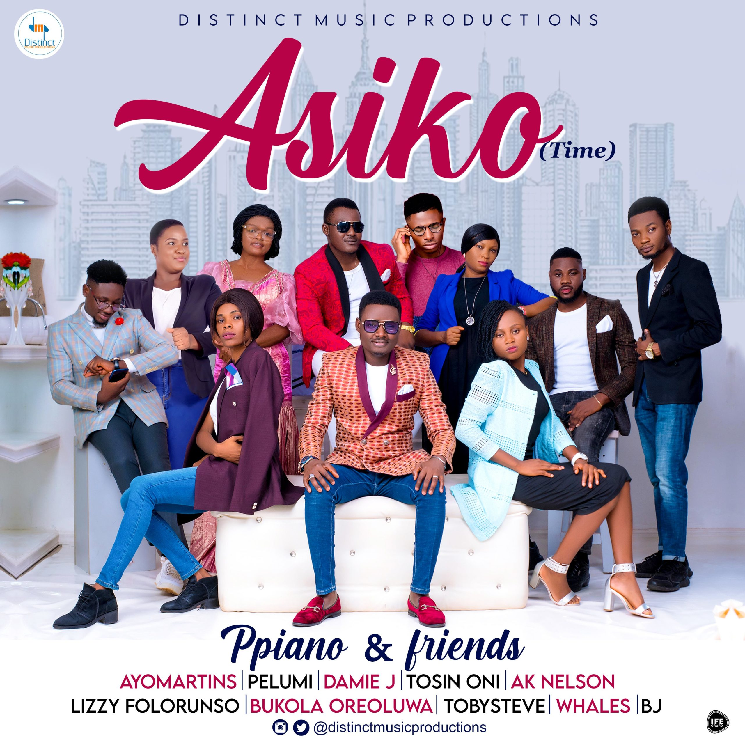 DOWNLOAD Music: Ppiano And Friends – ASIKO (Time)