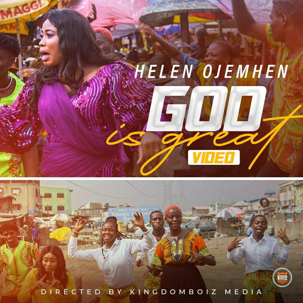 DOWNLOAD Music: Helen Ojemhen – God Is Great