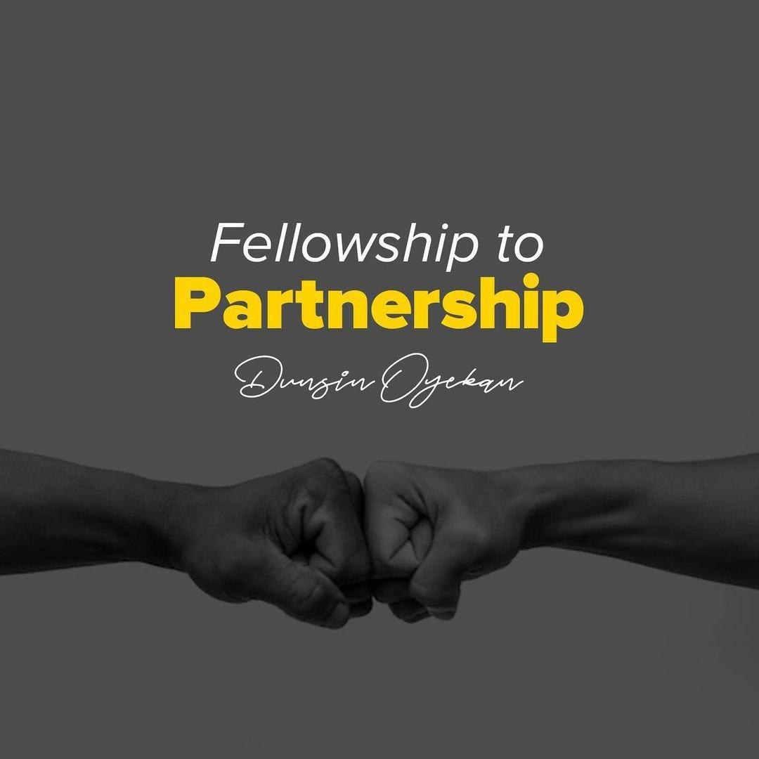 DOWNLOAD Music: Dunsin Oyekan – Fellowship to Partnership